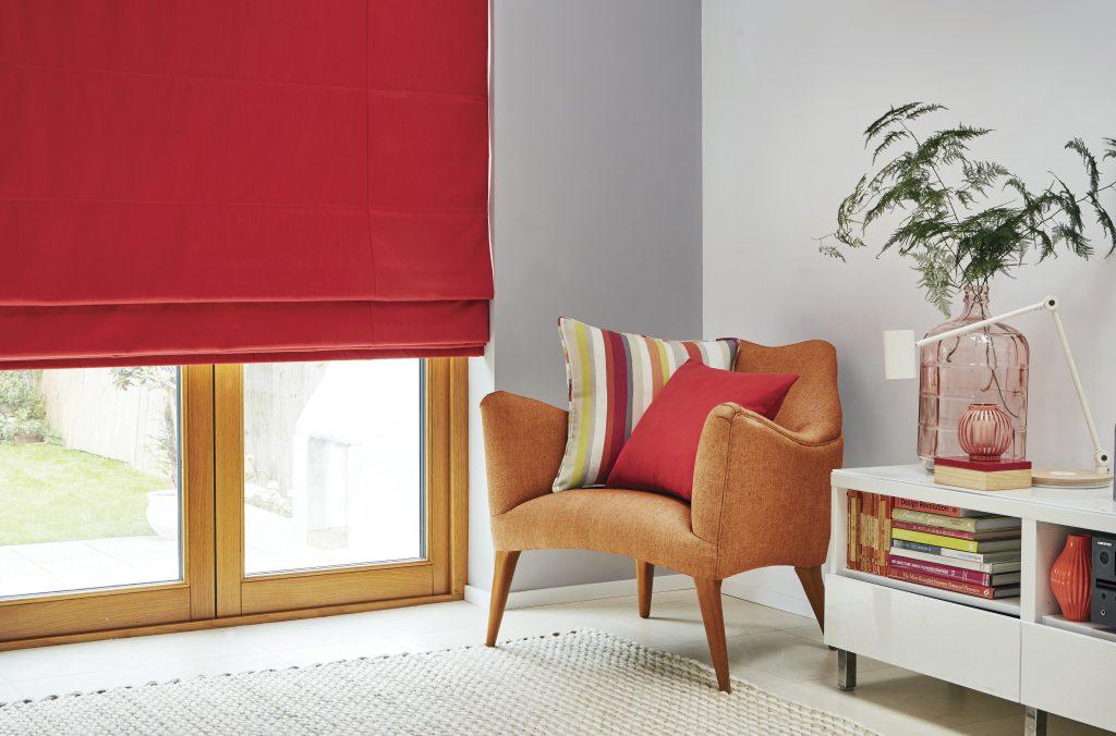 roman bi fold door blinds