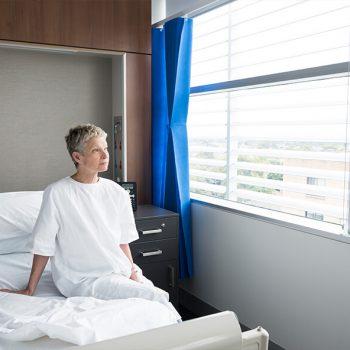 Hospital blinds